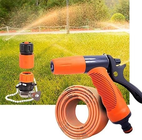 Pistola de Agua, de riego jardín jardinería Agua Boquillas Césped y Jardín Pulverizador Boquillas Riego Boquillas (Size : 20m Suit): Amazon.es: Hogar