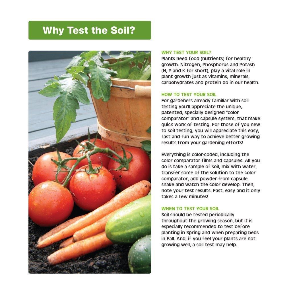com luster leaf rapitest soil test kit soil com luster leaf 1601 rapitest soil test kit soil testers patio lawn garden