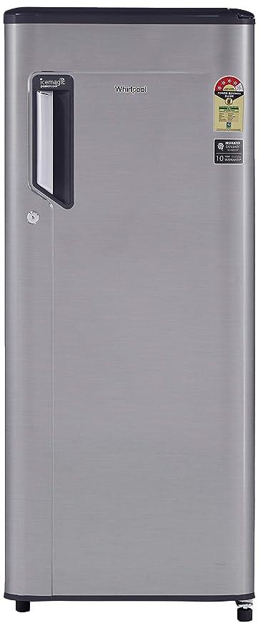 Whirlpool 200 L 4 Star   2019   Direct Cool Single Door Refrigerator  215 IMPWCL PRM 4S, German Steel  Refrigerators
