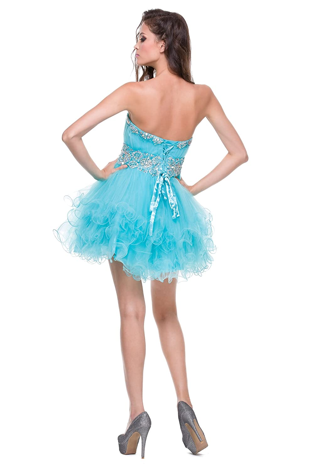 Juliet Dresses Womens Short tulle dress 703J at Amazon Womens Clothing store: