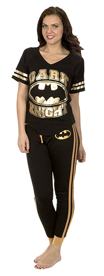 Batman Women's Superhero Pajama Set