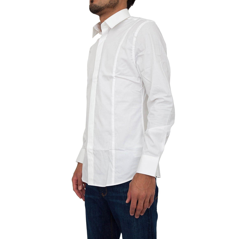 Camicia manica lunga GUESS by Marciano Uomo 71H432 4170ZGMA009 Bianco EG06071H432-4170ZGMA009 GUESS MARCIANO