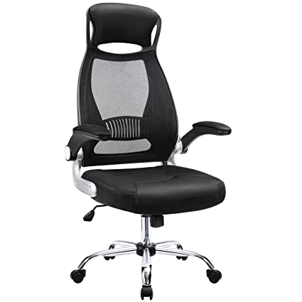 Computer chair with adjustable armrest