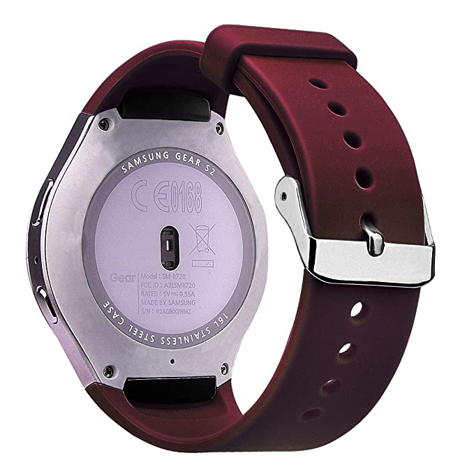 V-MORO Banda de Silicona Compatible con Samsung Gear S2 ...