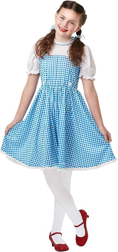 MFD - Disfraz de Dorothy para niñas + Medias de Mago de Oz: Amazon ...