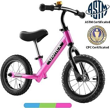 Gonex Bicicleta sin Pedales para Niños, Bicicleta de Equilibrio 12 ...