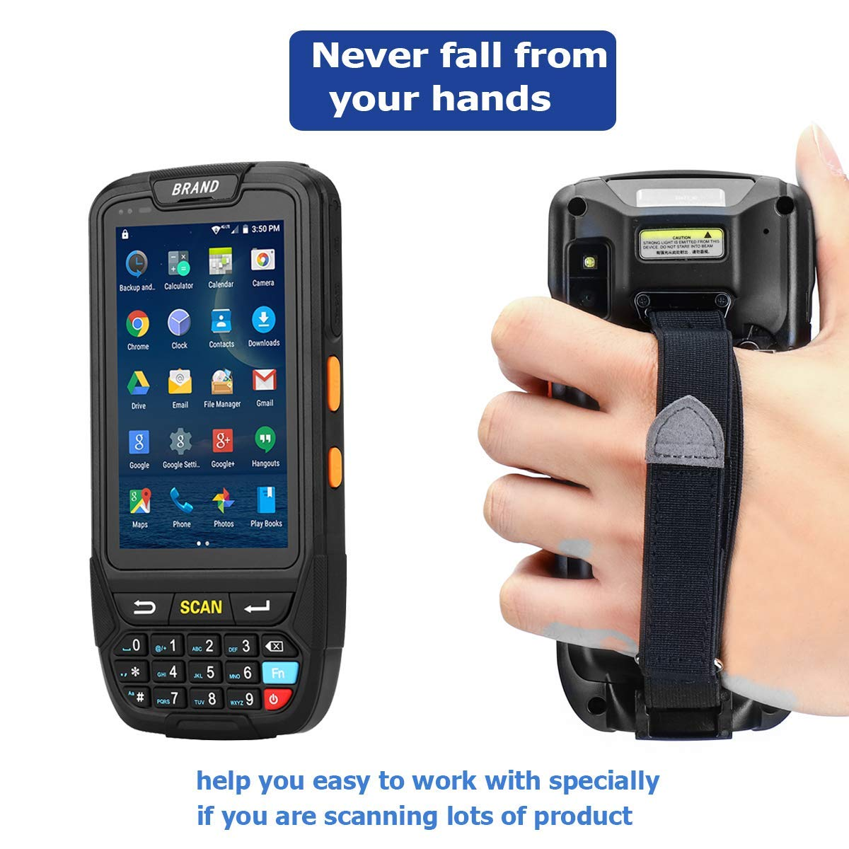 Touch Screen Support 4G WiFi BT GPS for Warehouse Management ...