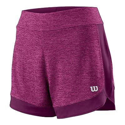 Wilson Women`s Condition Knit 3.5 inch Tennis Short Very Berry-(WRA764902-U18)