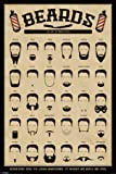 Pyramid America Beards The Art of Manliness Poster 24x36 inch