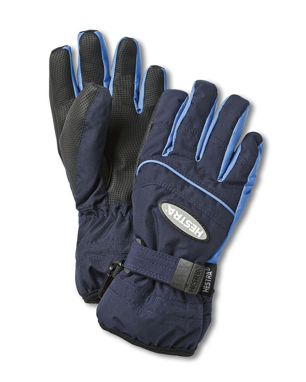 Hestra Gloves 32880 Jr. Primaloft, Dark Navy/Skyblue - 3