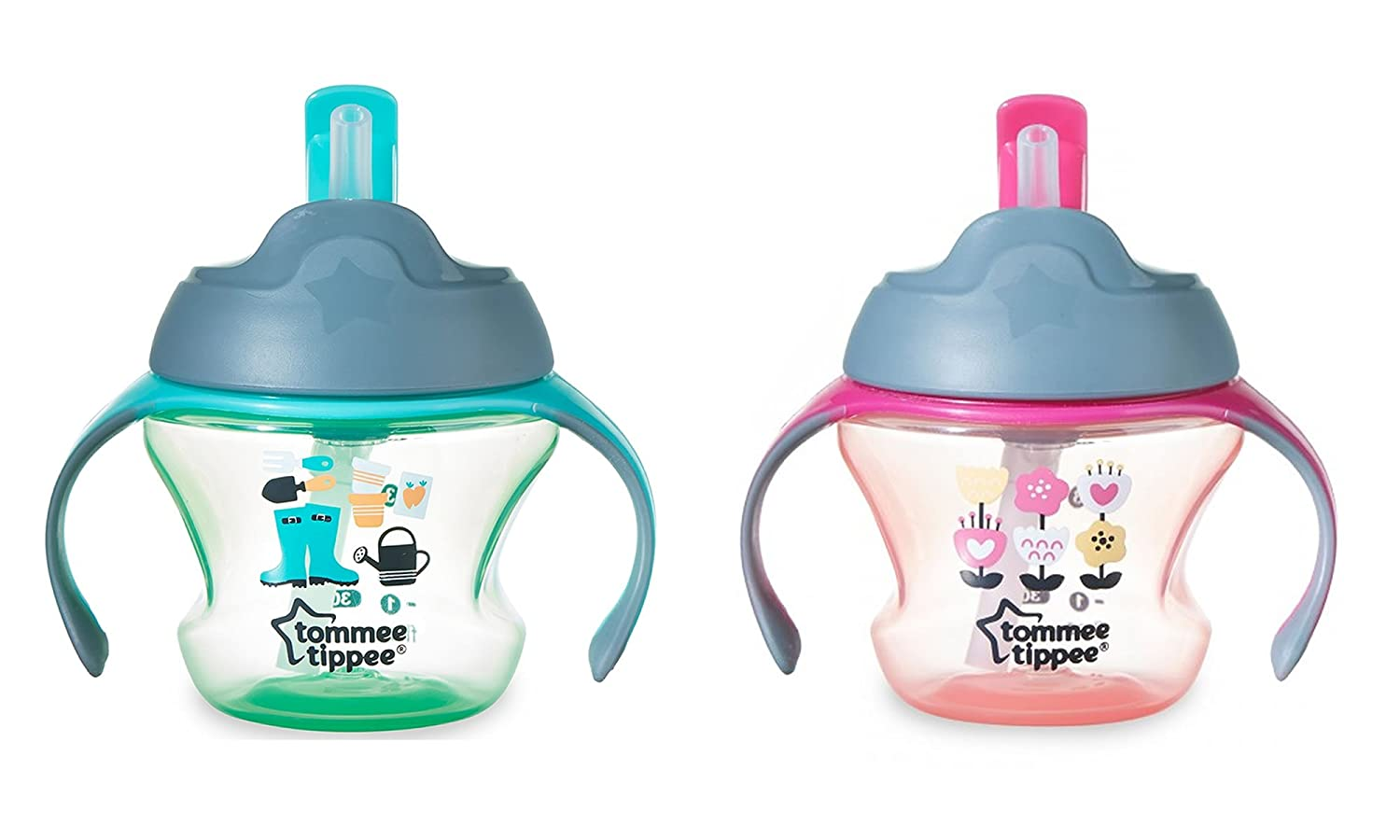 Tommee Tippee First Cup Purple (2 Packs)