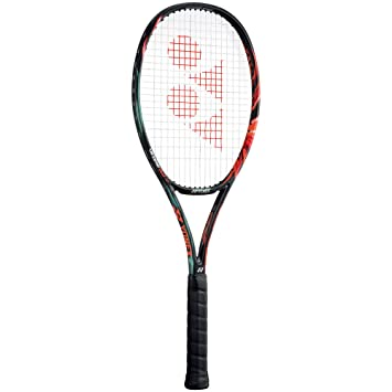 Yonex TVCDG97L5 VCore Duel G 97 Graphite Tennis Racquet, 4 3/8-inch (Black/Orange) Racquets at amazon