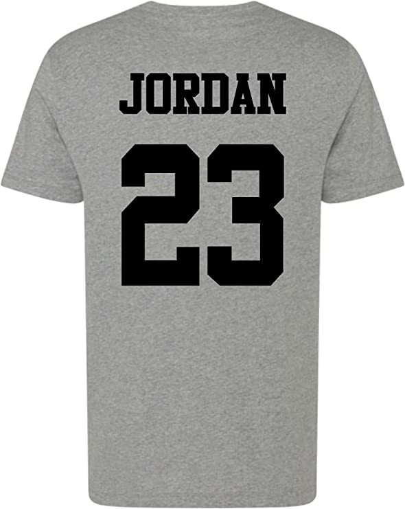 Camiseta unisex, diseño de Michael Jordan con dorsal 23: Amazon.es: Ropa y accesorios