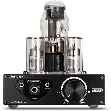 Nobsound Mini FU32 R/öhren Kopfh/örerverst/ärker Tube Headphone Amplifier HiFi Stereo Preamp