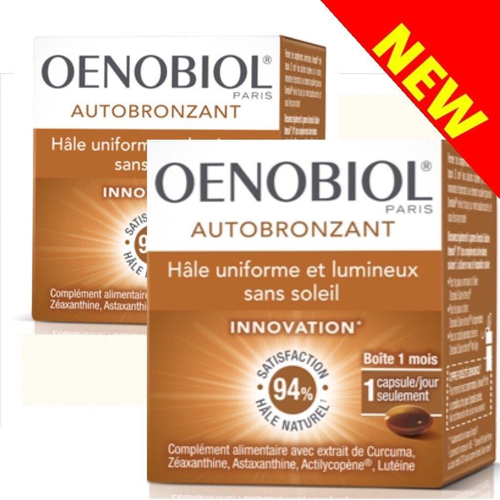 Oenobiol Autobronzant Hâle uniforme et lumineux sans soleil - Lot de 3 boites 271164