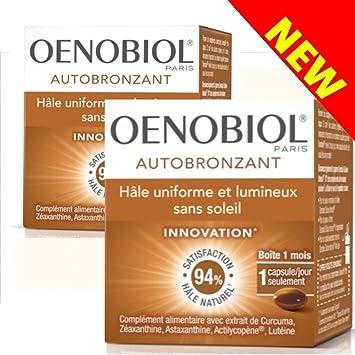 oenobiol accelerateur de bronzage