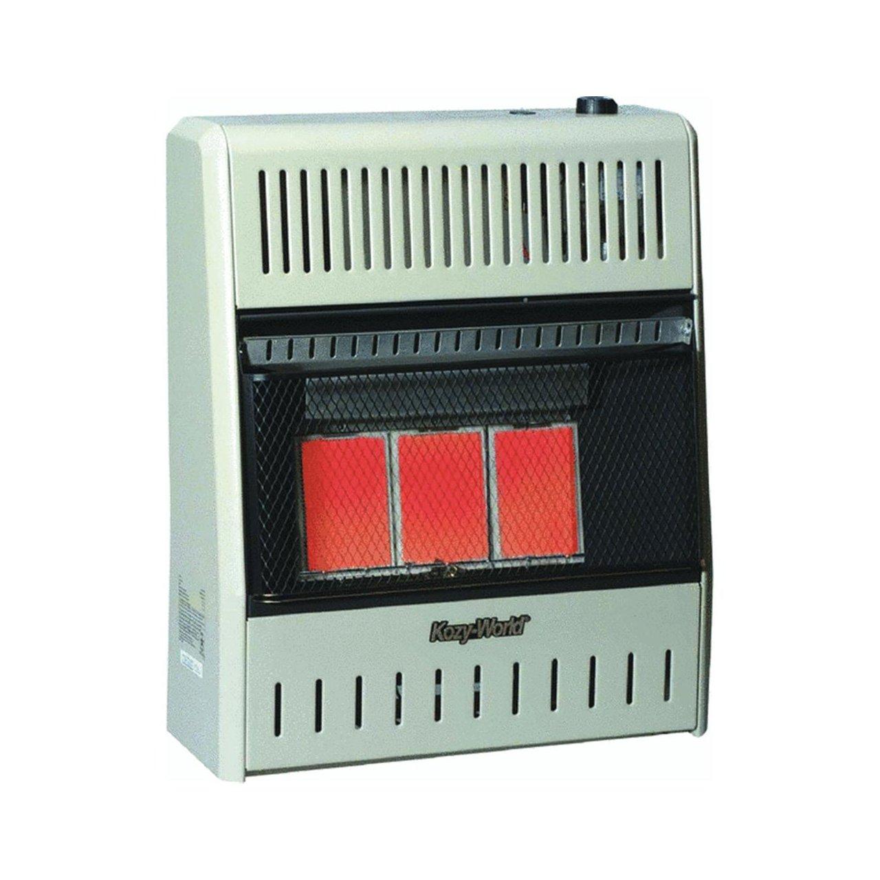 amazon com kozy world kwp192 15 000 btu vent free lp gas infrared