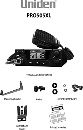 Uniden-PRO505XL-40-Channel-CB-Radio-Reviews