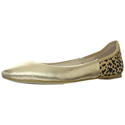 ALL BLACK Women's Jungle Mix, Gold, 36.5 EU/6 M US | Flats