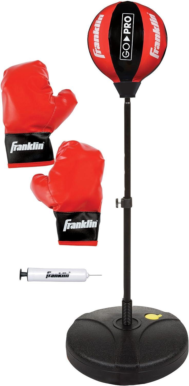 Speedball Platform Punch Bag Floor To Ceiling MMA Junior Punch Workout Ball St
