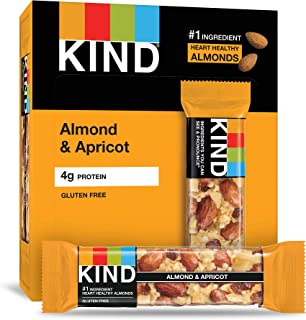 product image for KIND Bars, Almond & Apricot, Gluten Free, 1.4oz, 12 Count