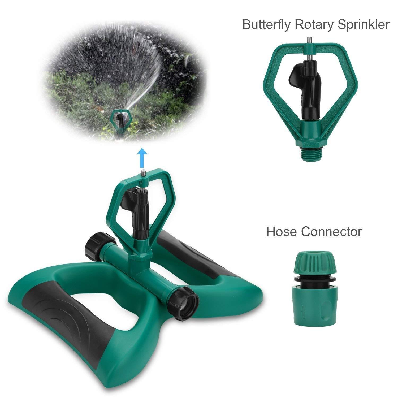 Sprinklers Bonus 1 Rotary Sprinkler Head Rotating Adjustable Angle ...