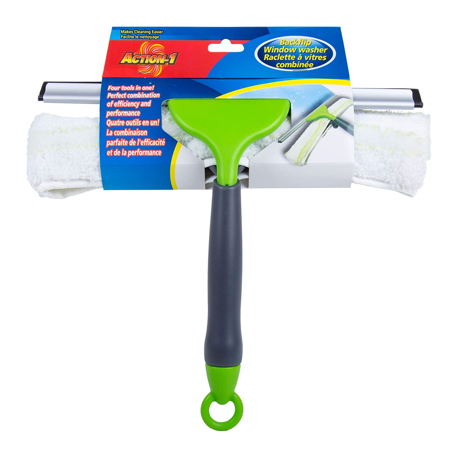 40 inches Lime Green Action 1 Butterfly Mop