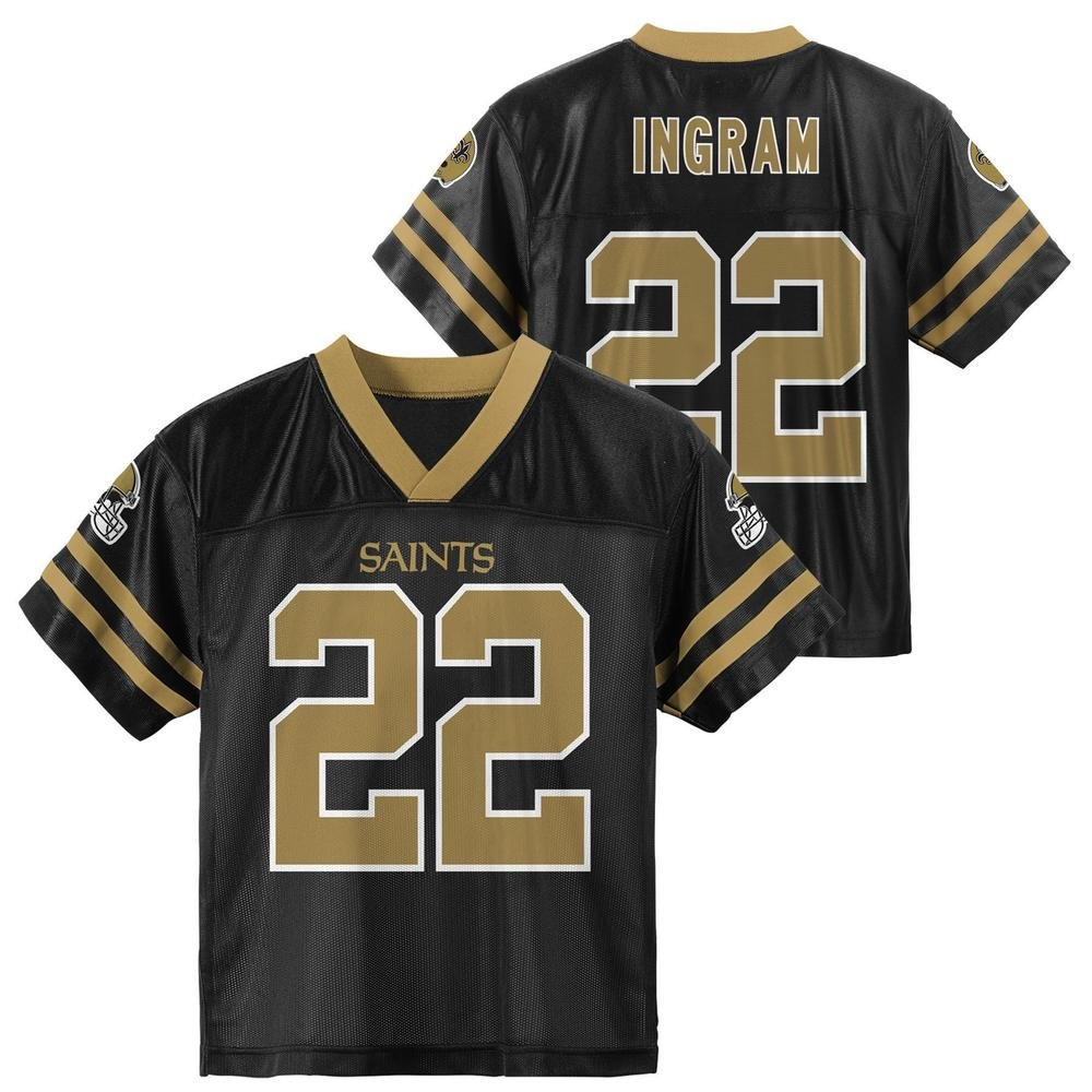 5be05f80 Outerstuff Mark Ingram New Orleans Saints Black Youth Player Home Jersey