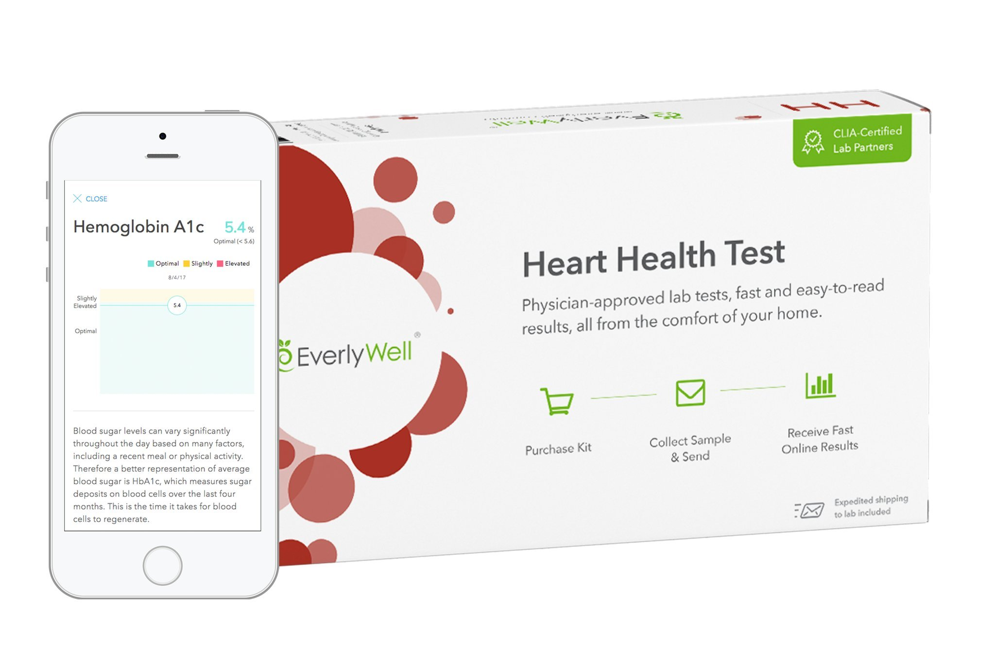 EverlyWell - Heart Health Test - As Seen On Shark Tank (Not Available in NY, NJ, RI, MD)