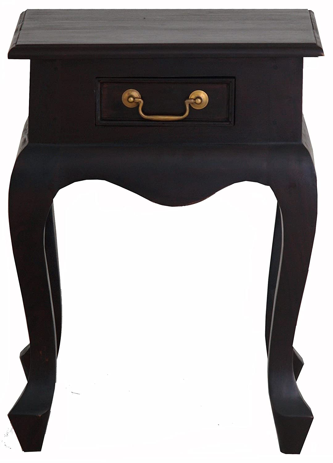 Amazon.com: NES Furniture abc10285 Queen Anne Nightstand ...