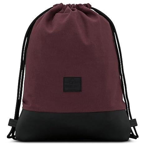 6565c7d4d Mochila de Cuerda Rojo/Negro - Johnny Urban Bolsa de Cuerdas para Hombre  Mujer Niños y Adolescentes: Amazon.es: Electrónica