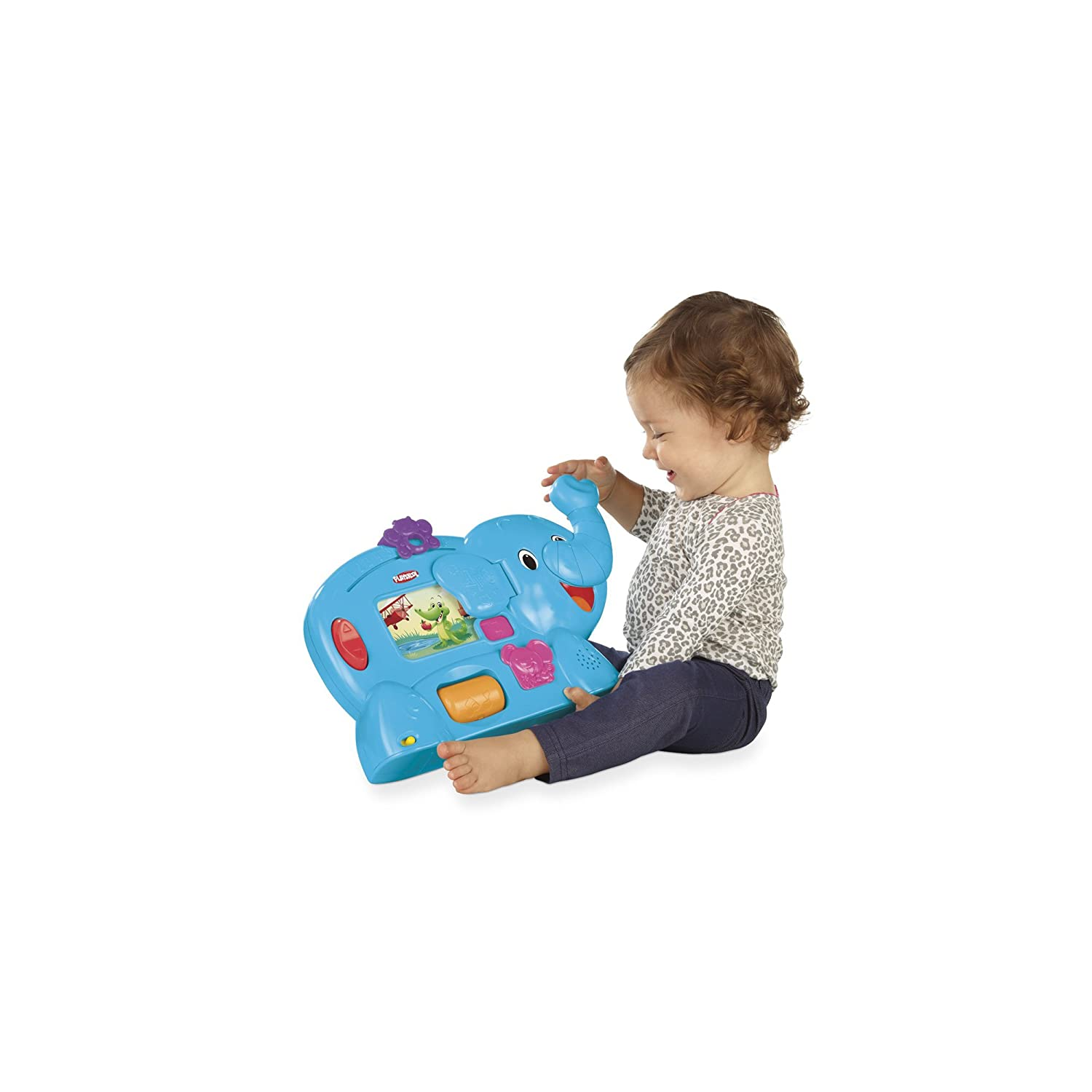 Amazon Playskool Learnimals ABC Adventure Elefun Toy Toys