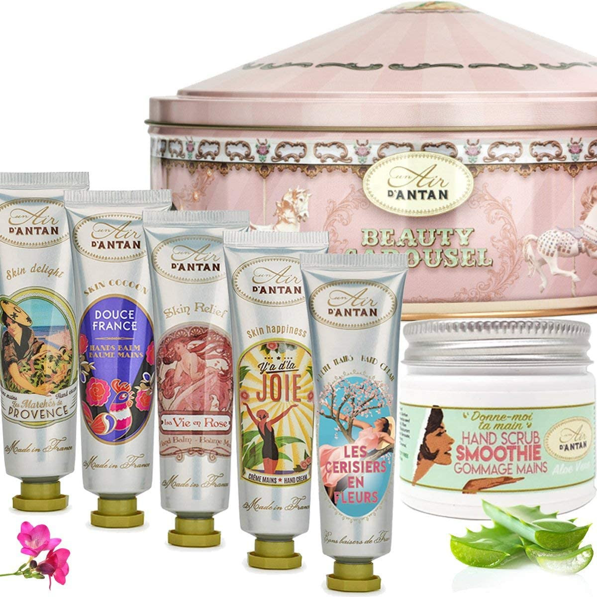 7 Piece Hand Cream Collection | Perfume gift sets, Argan oil