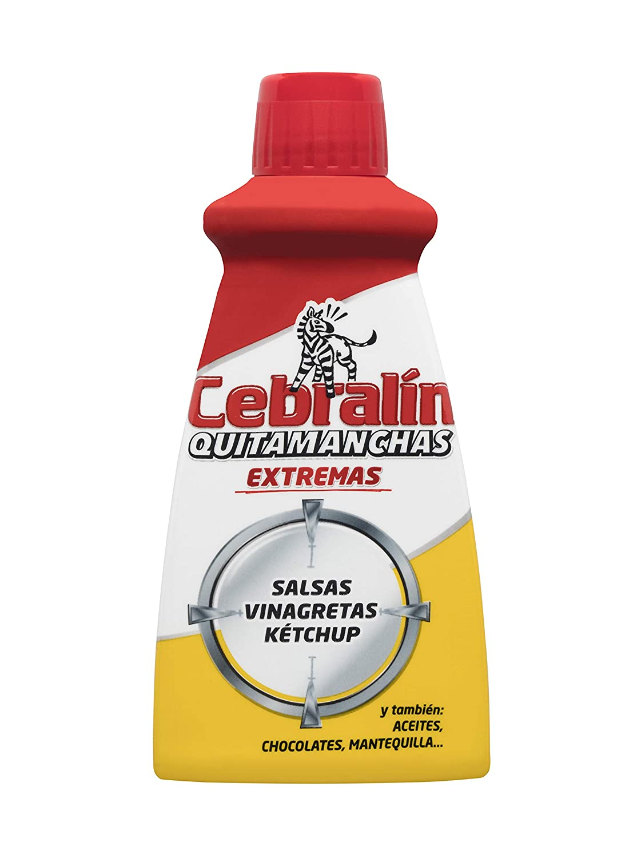 Cebralín - Quitamanchas Extremas de Tintas en Textiles, Lote de 6 x 70 ml - Total: 420 ml: Amazon.es: Salud y cuidado personal