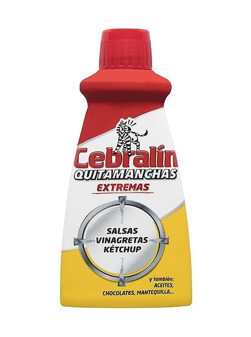Cebralín - Quitamanchas Extremas de Salsas en Textiles, Lote de 6 x 70 ml -