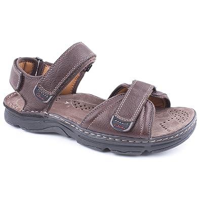 c76da7c0922 Mens Clarks Atl Part Brown Leisure Sandals Size 12  Amazon.co.uk ...