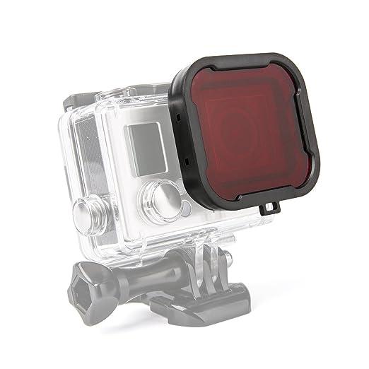 18 opinioni per Luxebell® Scuba Dive filtro rosso per GoPro Eroe 4 nero, argento e Hero3 +