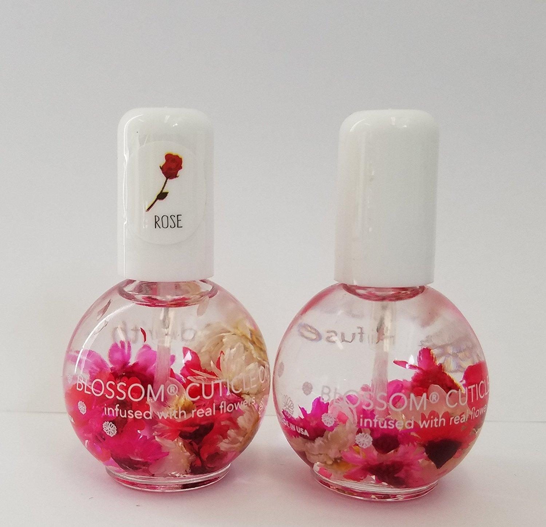 Blossom Cuticle Oil 0.5oz - (Rose) blue beautycross