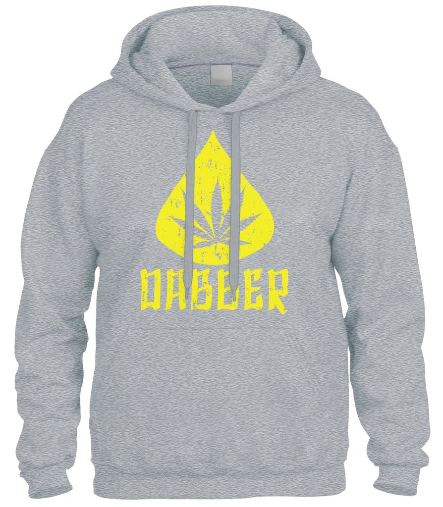 Cybertela Marijuana Dabber, Weed Cannabis 420 Sweatshirt Hoodie Hoody