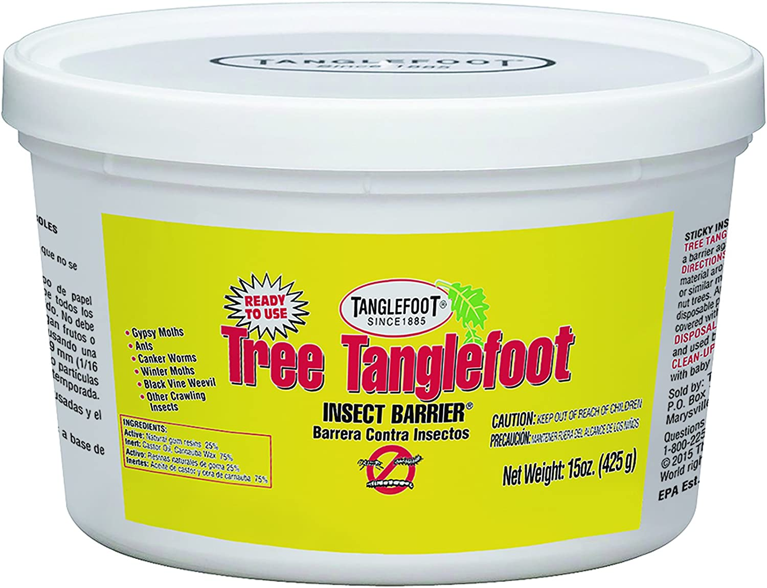 Tree Tanglefoot Insect Barrier (Tub), 15 oz.