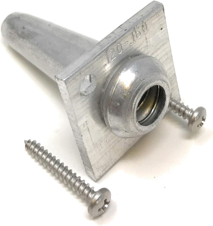 Una manera Anchor Vises para 8 – 11 alambre de calibre con tornillos 10 unidades | wirevise | UVA Arbor enrejado de alambre | | Anchor Vise: Amazon.es: Bricolaje y herramientas