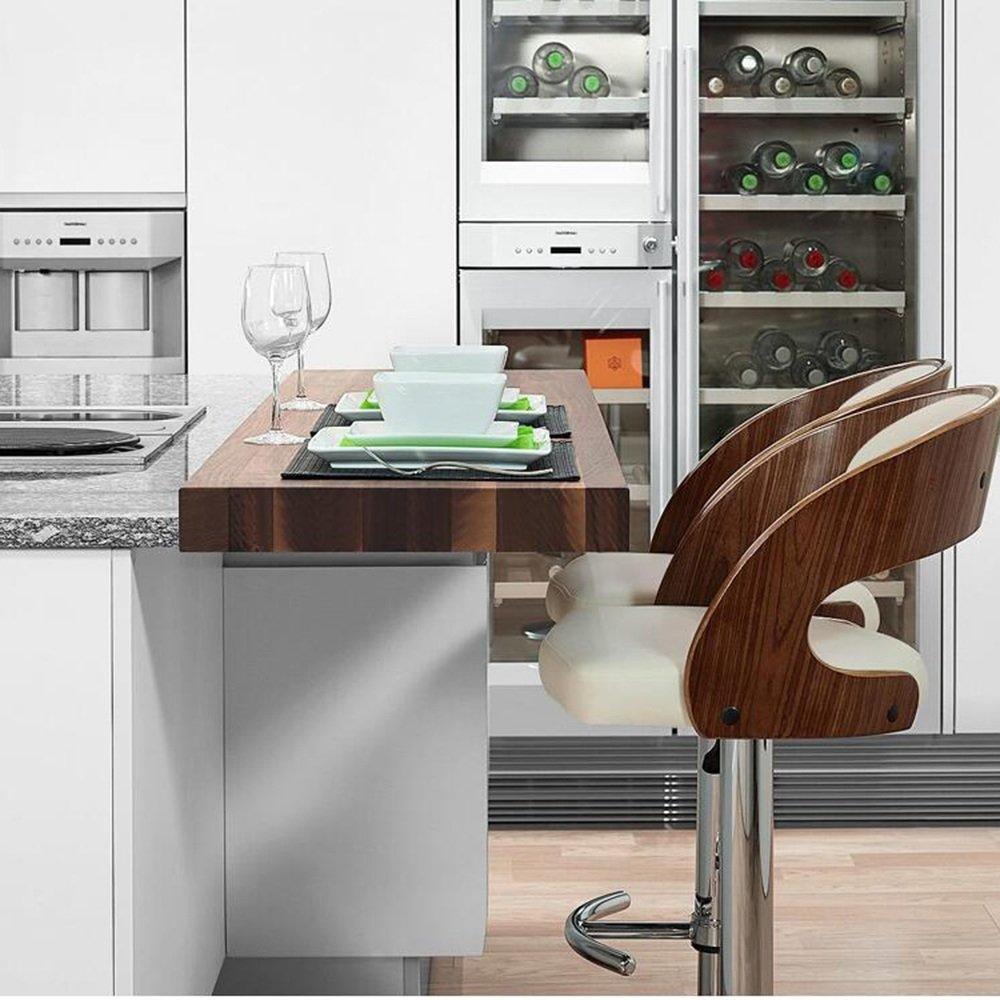Amazon.de: HAIZHEN Hocker Stühle Barhocker Stühle mit großen Sitzen ...