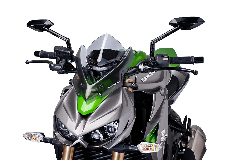Puig 7011H Smoke WindShield V-Techline Yamaha Tmax 12-16