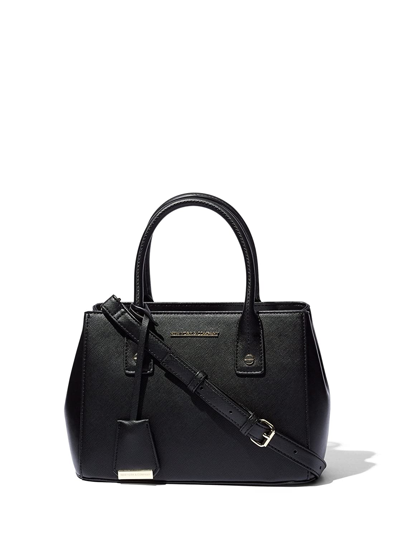 Women s Mini Faux-Leather Satchel Handbag 0 Black  Handbags  Amazon.com 4ae347c0c