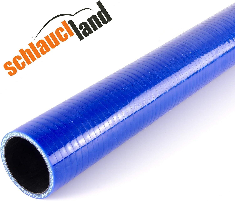 Silikonschlauch 50cm ID 70mm blau*** Unterdruckschlauch Vacuum Hose Verbinder LLK