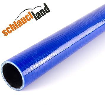 1,00m Silikonschlauch Innendurchmesser 25mm schwarz*** Turbo LLK Verbinder K/ühlwasserschlauch