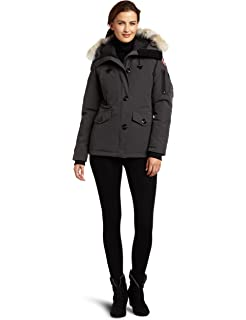 1b65da69cc340 Amazon.com: Canada Goose Women's Kensington Parka Coat: Clothing