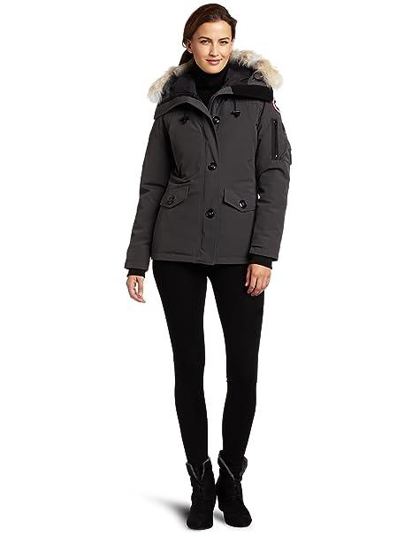 good Canada Goose Montebello Parka White Jacket Coat