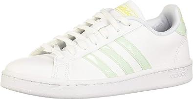 Chaussures adidas CF Advantage CL blanc vert clair femme