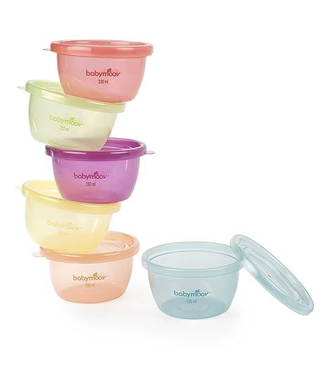 Babymoov A004301 - Cuencos con tapa para alimentos infantiles ...